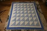 Nice hand stitched antique quilt