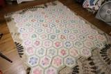 Nice Antique Hand Stitched Quilt