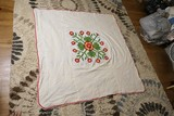 Nice Vintage Quilt Top w/Tulip Design