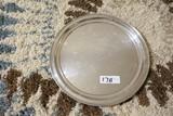 Large Sterling Award Platter 907 grams