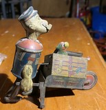 Antique Wind Up Popeye Express toy - Marx