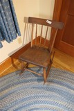Antique Smaller Sized Rocking Chair