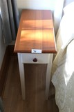Narrow Wooden Table or Nightstand