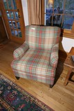 High Quality overstuffed armchair