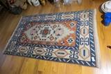 Vintage Handmade Persian Rug or Carpet