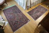 2 Machine & Hand Knotted Carpets
