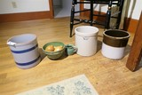 Group Lot assorted Stoneware etc
