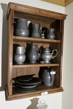 Collection of Antique Pewter Including Early American