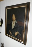 c. 1850 Portrait of a Wealth Lady Oil on Canvas