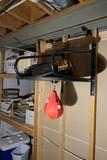Everlast Speed Bag on Hanger