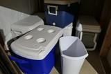 Large Lot Plastic Coolers