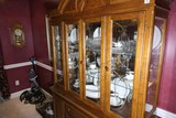 Contents of top & bottom china cabinet
