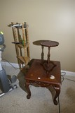 Three Pieces of Furniture - Shelf, Stand, Table