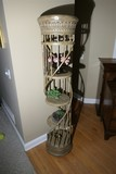 Italianate Planter or Stand w/Shelves