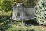 Metal framed trampoline