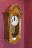 Wind up Vintage Oak Wall Clock