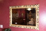 VIntage style Fancy Bevelled Glass Mirror