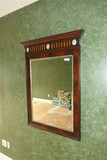 Large Antique Style Mirror