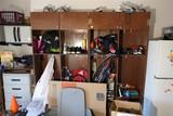 Wooden Garage Storage Cabinet