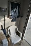 Plastic chair, folding chair