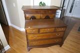 Nice Ethan Allen Chest on Chest Dresser