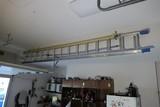 Nice 14' Werner extension ladder - aluminum