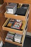 Three Drawer Lots of CDs