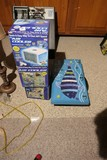 3 Air Coolers in Boxdes, Fish artwork, cage
