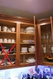 Cupboard contents inc. Mikasa china set
