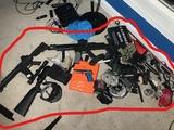 Large Lot Realistic Airsoft Guns etc