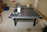 Folding Stiga Ping Pong Table w/Accessories