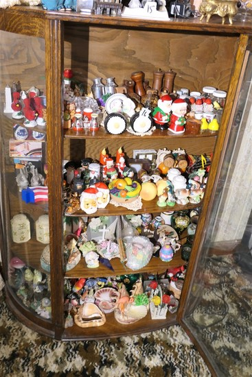 Curio cabinet contents lot - huge qty