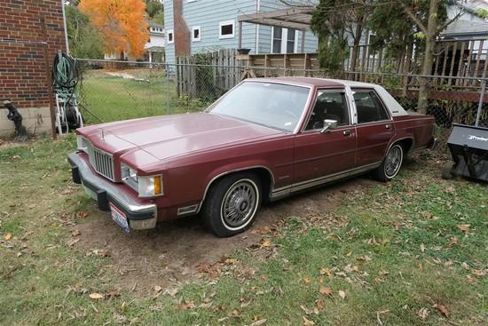 1984 Mercury Grand Marquis Giant Sedan