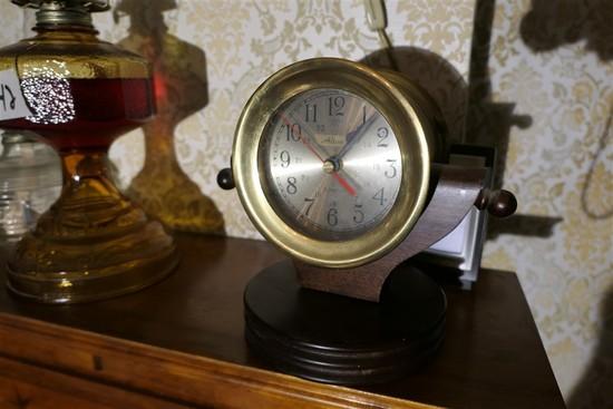 Vintage Nautical Style Clock, barometer