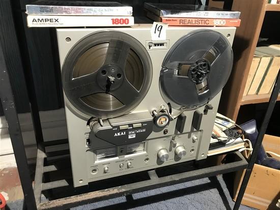 Vintage AKAI Reel to Reel GX-215D