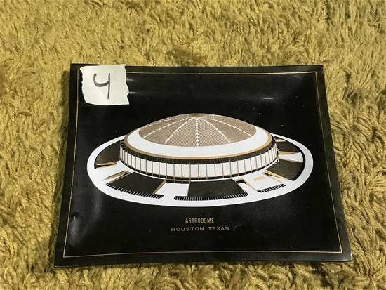 Vintage Houston Astrodome Ashtray