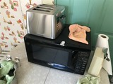 Microwave and Toaster Lot