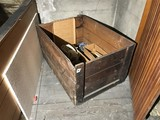 Large Antique Wooden Crate