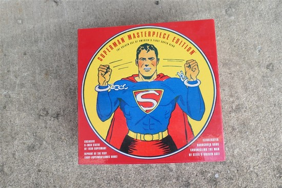 Superman Masterpiece Edition in Box