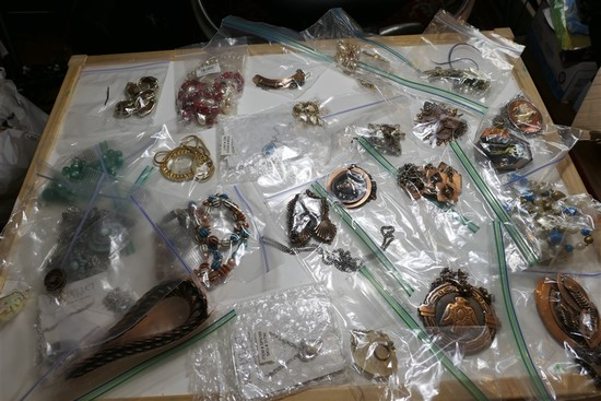 Group Lot Vintage Costume Jewelry, Native American etc