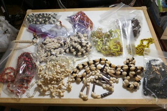 Lot of Vintage Costume Jewelry Necklaces etc