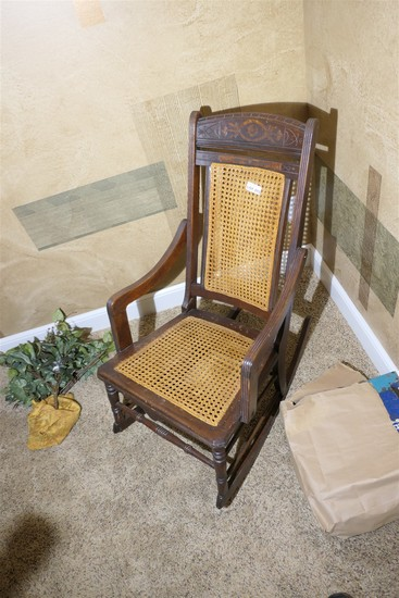 Nice antique Victorian Rocking Chair