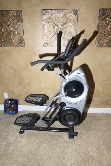 High end Bowflex Max Trainer cardio machine