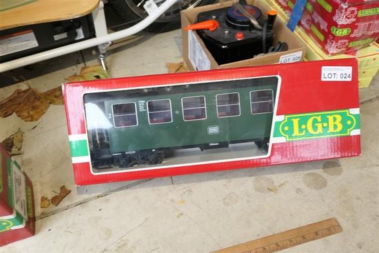 LGB G Scale Lehmann passenger car