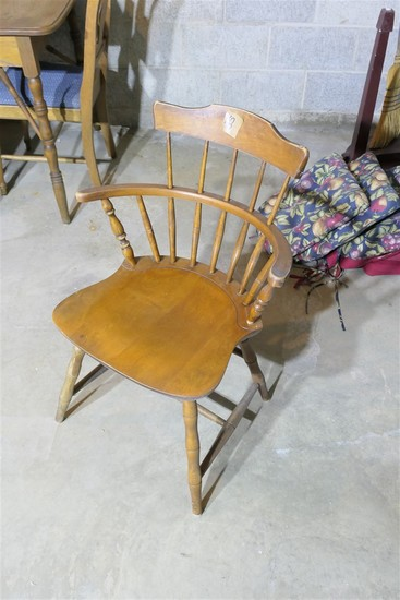 Pair of Nichols & Stone Small Windsor Chairs