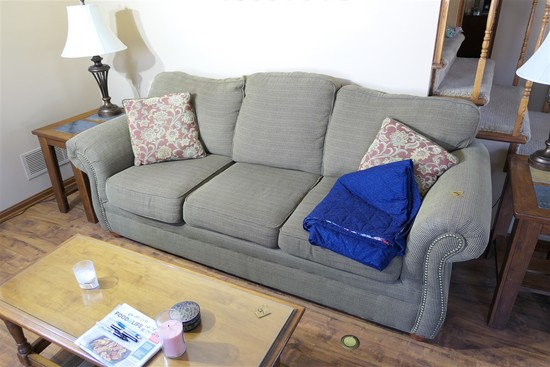 Nicer Upholstered Large Sized Couch