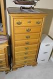 Cayton furniture oak narrow dresser