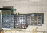 Sorter bins and contents