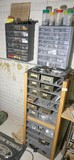 2 Wall sorters and shelf sorter + contents
