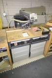 Sears/Craftsman Radial Saw & Cabinet + accessories